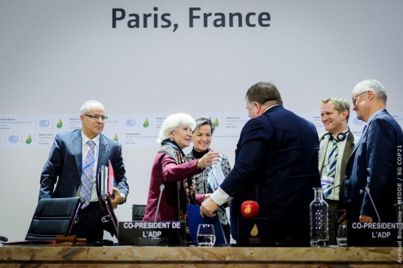 COP21...BORMIOLI LUIGI IN PRIMO PIANO CON I SUOI PRODOTTI