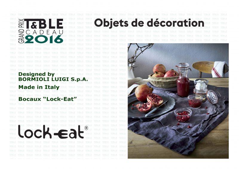 LA COLLEZIONE LOCK-EAT VINCE IL PREMIO